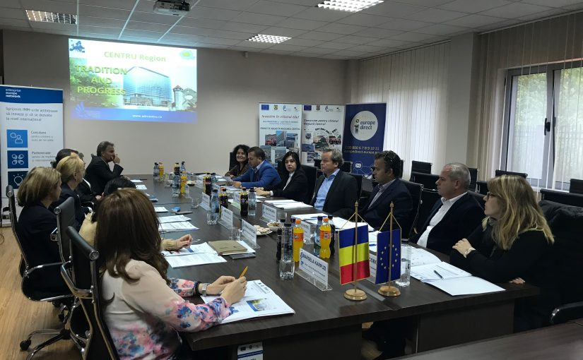 Vizită de studiu a delegației albaneze în Romania