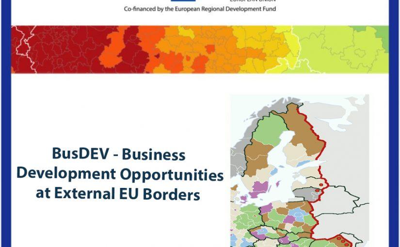 """Am finalizat cu succes prima etapă a proiectului """"Analiza Oportunităților de Dezvoltare a Afacerilor la Frontierele Externe ale UE""""."""